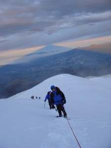 Leading a Team on Cotopaxi