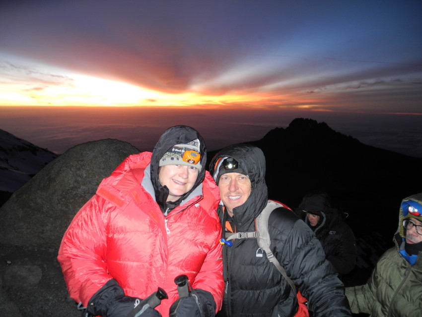 Chris Warner PodCast on Growing Boulder: Conquering Kilimanjaro with Livestrong