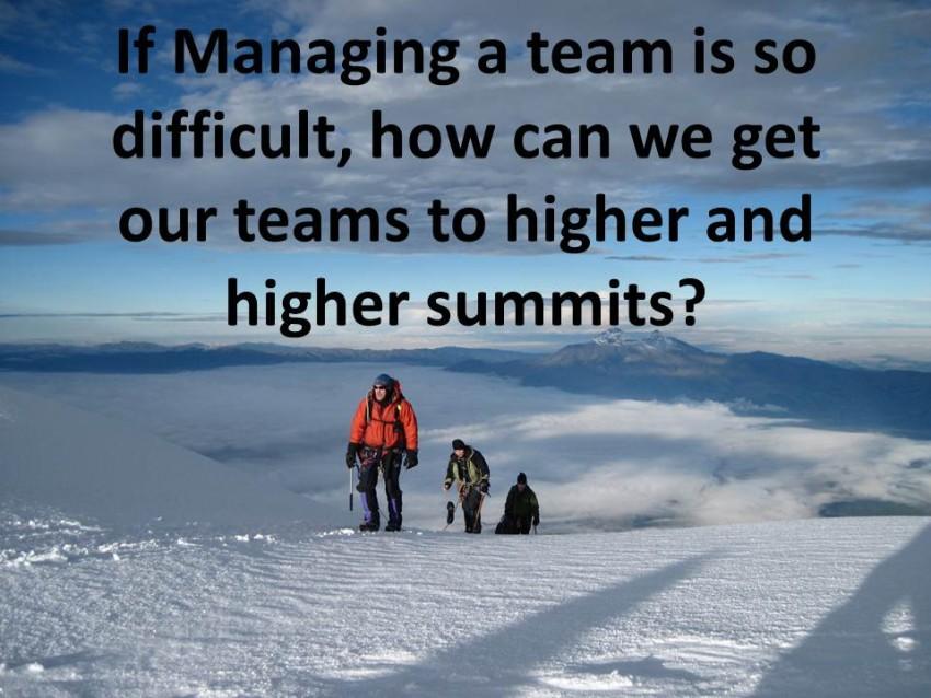 Do you Lead a High Performance Team?