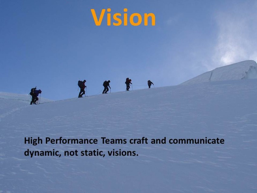Does Your Team Know Where it is Going?